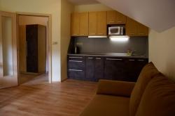 Kuchyň  v Hradním apartmánu