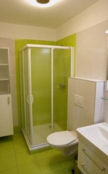 Koupelna v Zeleném apartmánu