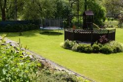 Zahrada - pohled z vyhlídky